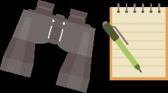 binoculars_and_notebook
